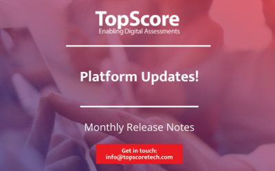 Have you seen our latest Release Notes (updates) for virtual assessment centres?